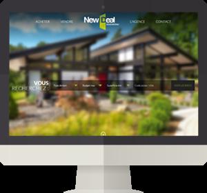 Un site immobilier ergonomique